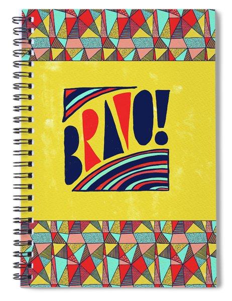 Bravo Spiral Notebook