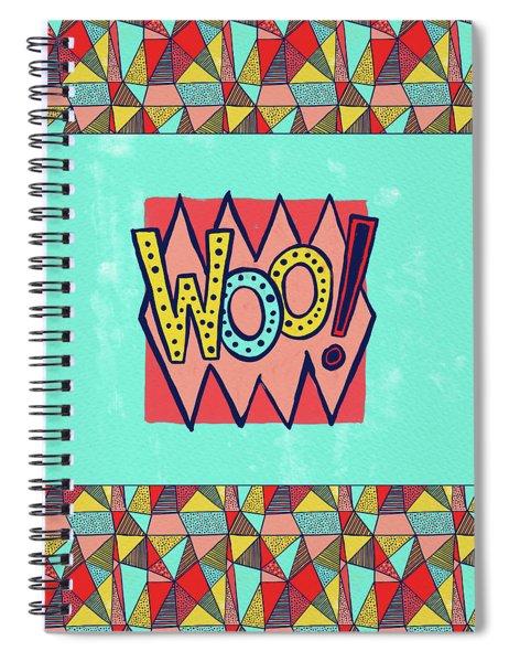Woo Spiral Notebook