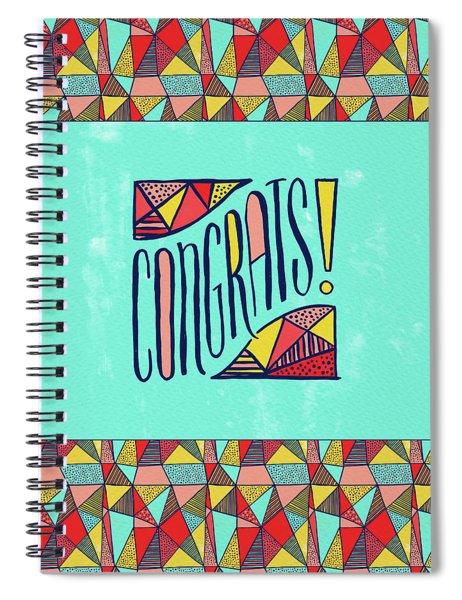 Congrats Spiral Notebook