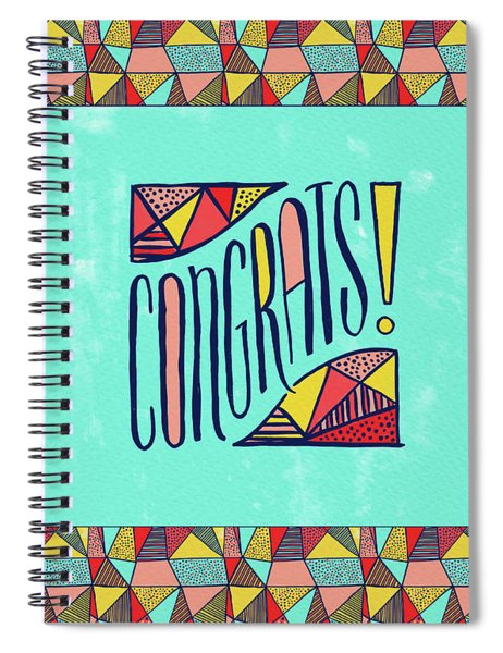 Congrats Spiral Notebook
