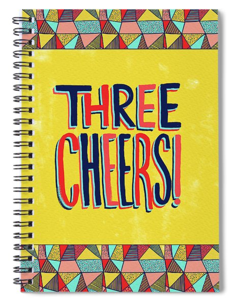 Three Cheers Spiral Notebook
