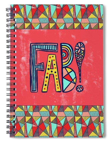 Fab Spiral Notebook