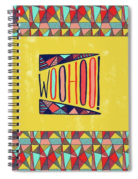 Woohoo Spiral Notebook