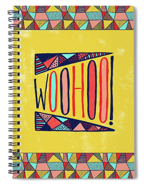 Woohoo Spiral Notebook