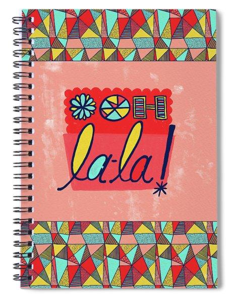 Ooh La-la Spiral Notebook
