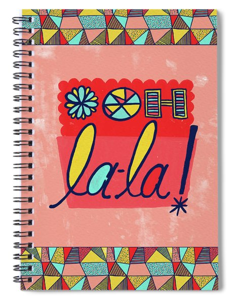 Ooh La-la Spiral Notebook