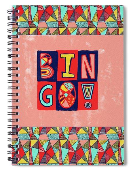 Bingo Spiral Notebook