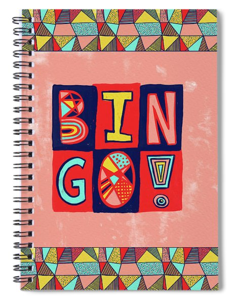 Bingo Spiral Notebook