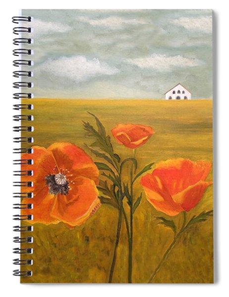 Springtime Storm Spiral Notebook