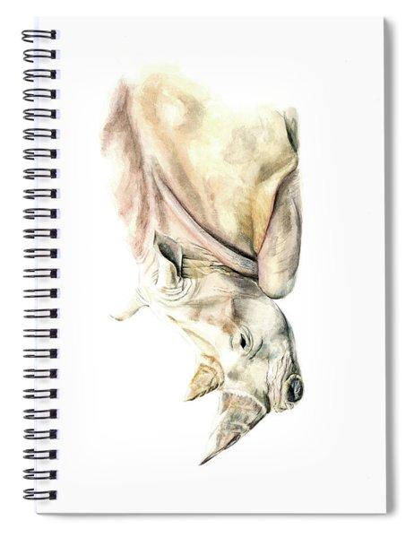 Small Colour Rhino Spiral Notebook