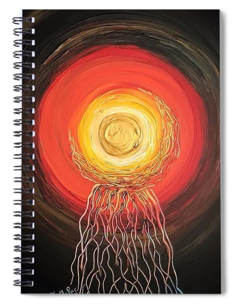 As Above, So Below Spiral Notebook