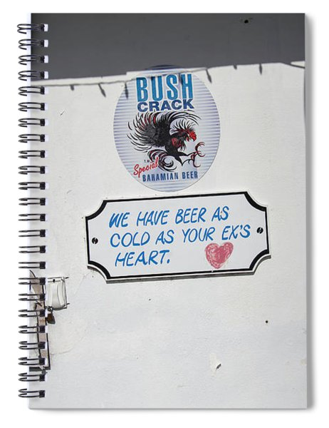 As Cold As Your Ex's Heart Spiral Notebook