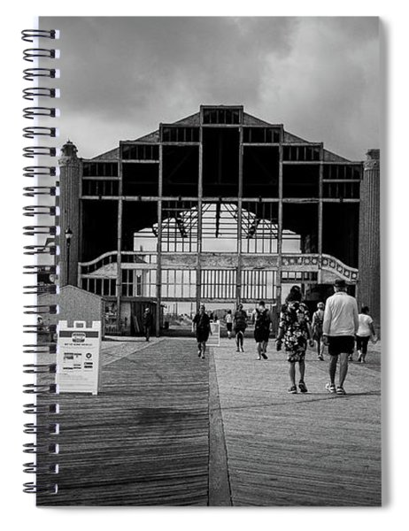 Asbury Park Boardwalk Spiral Notebook