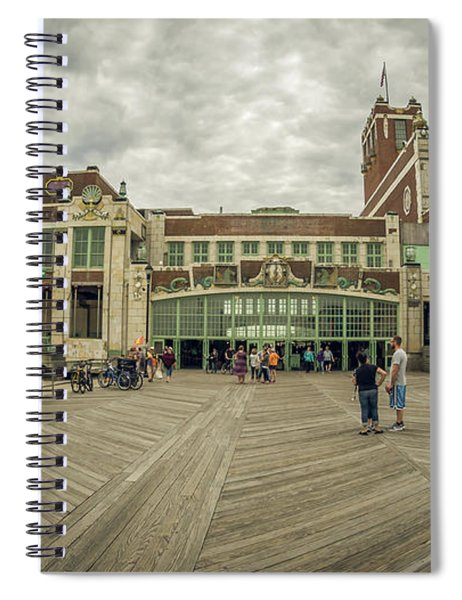 Asbury Park Convention Hall Spiral Notebook