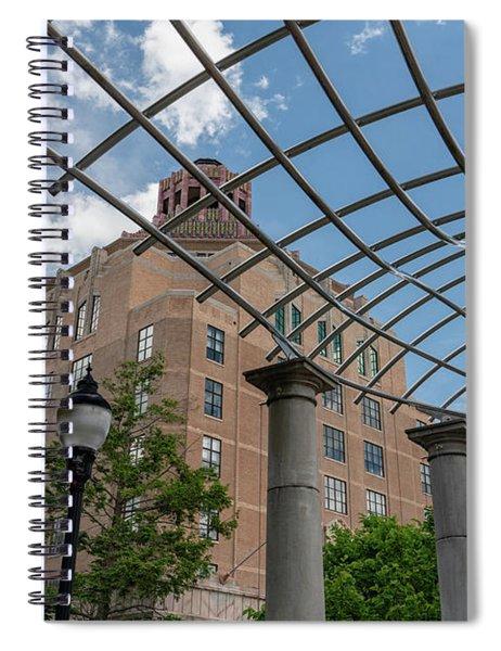 Asheville City Hall 2 Spiral Notebook