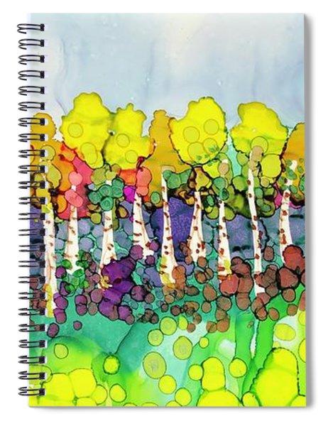 Aspen Autumn Spiral Notebook