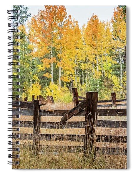 Aspen Corral Spiral Notebook