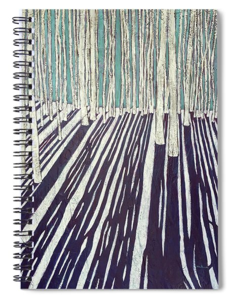 Aspen Shadow Silhouettes Spiral Notebook