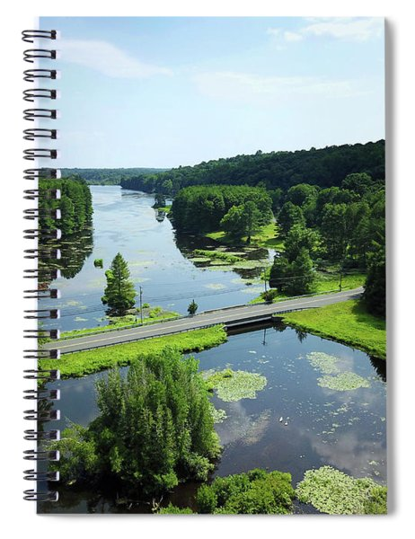 Aspetuck Reservoir Spiral Notebook