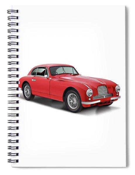Astom Martin Db2 Saloon 1953 Big Spiral Notebook