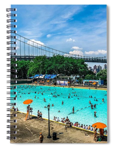 Astoria Pool Spiral Notebook