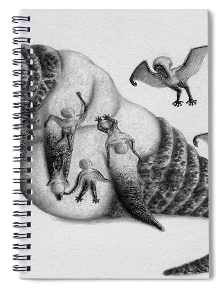 Astrid The Nightmare Nurturer - Artwork Spiral Notebook