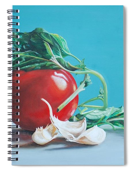 At Least We Still Have Tomatoes Spiral Notebook