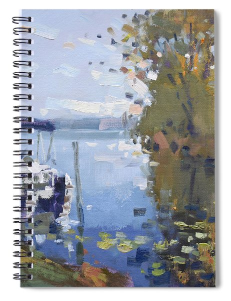 At The Dock Spiral Notebook