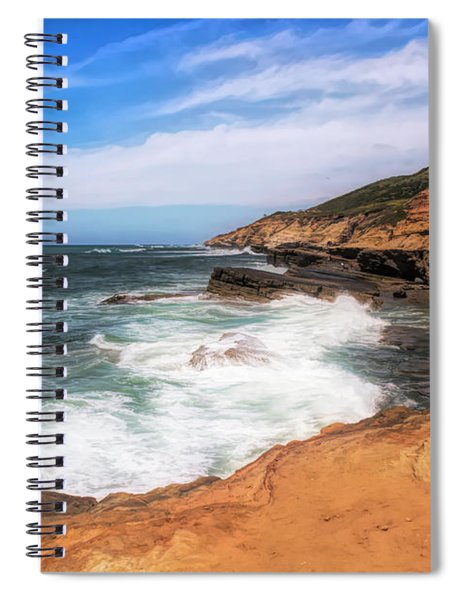 At The Edge Spiral Notebook by Alison Frank