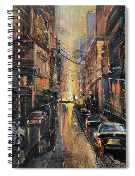 At The End Of The Day Spiral Notebook