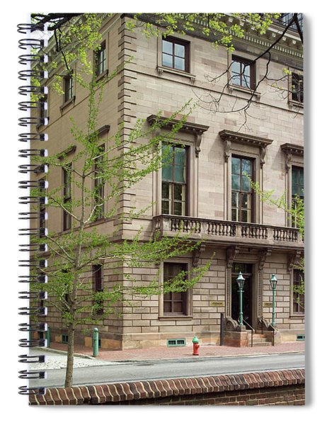 Athenaeum Exterior Spiral Notebook