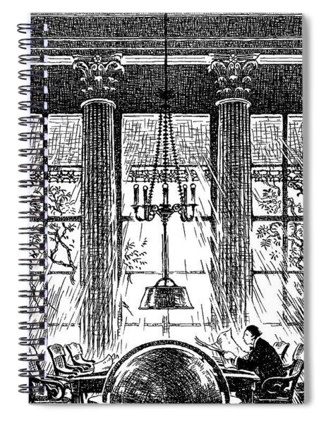 Athenaeum Reading Room Spiral Notebook