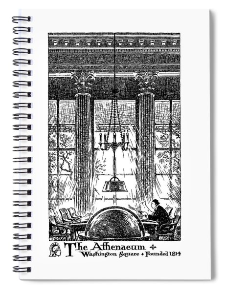 Athenaeum Reading Room Spiral Notebook