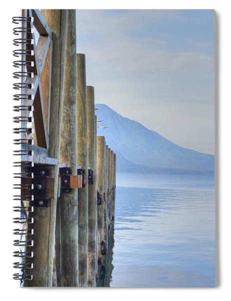 Atitlan Pier Spiral Notebook