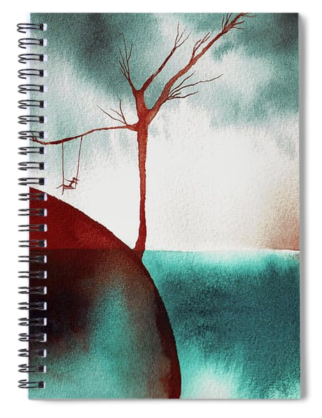 Atmospheric Day Spiral Notebook
