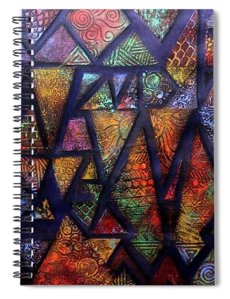Attractive Mosaic  Spiral Notebook