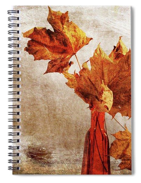 Atumn In A Vase Spiral Notebook