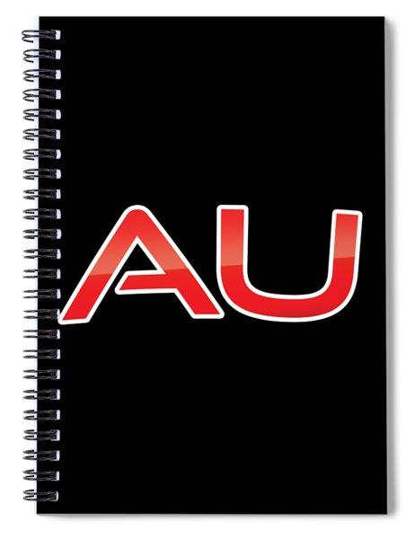 Au Spiral Notebook