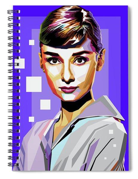 Audrey Hepburn Spiral Notebook