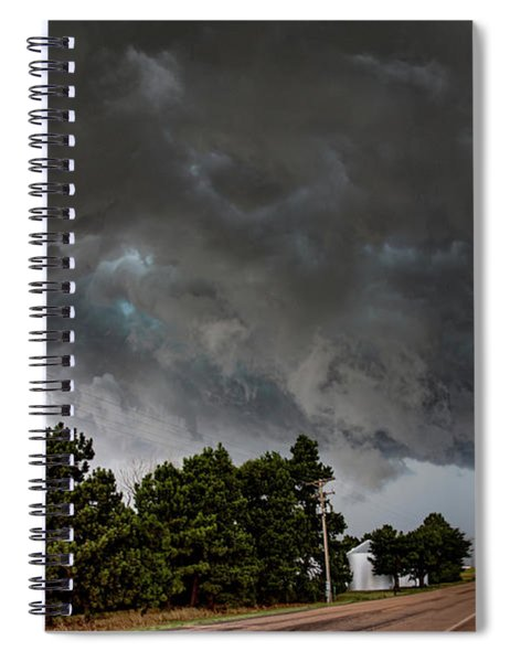 August Thunder 012 Spiral Notebook by Dale Kaminski