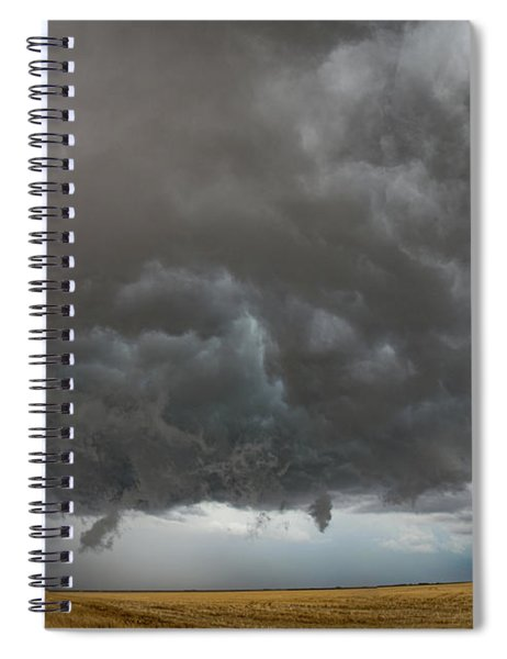 August Thunder 020 Spiral Notebook by Dale Kaminski