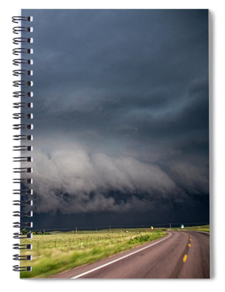 August Thunder 034 Spiral Notebook by Dale Kaminski