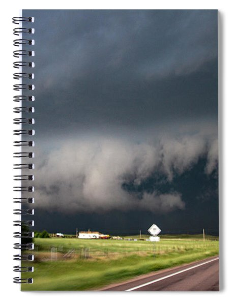 August Thunder 035 Spiral Notebook by Dale Kaminski