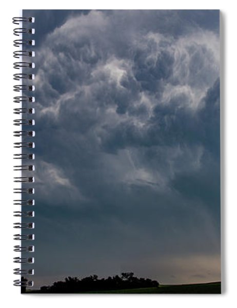 August Thunder 040 Spiral Notebook by Dale Kaminski