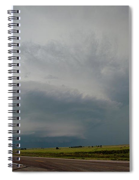August Thunder 044 Spiral Notebook by Dale Kaminski
