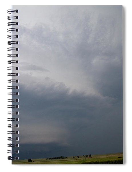 August Thunder 045 Spiral Notebook by Dale Kaminski