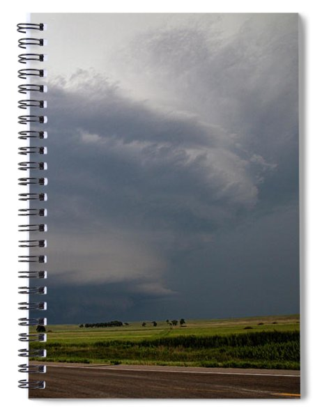 August Thunder 046 Spiral Notebook by Dale Kaminski
