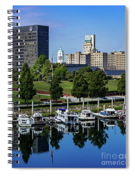 Augusta Ga Savannah River 3 Spiral Notebook