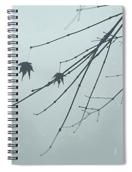 Spiral Notebook featuring the digital art Auld Lang Syne by Gina Harrison