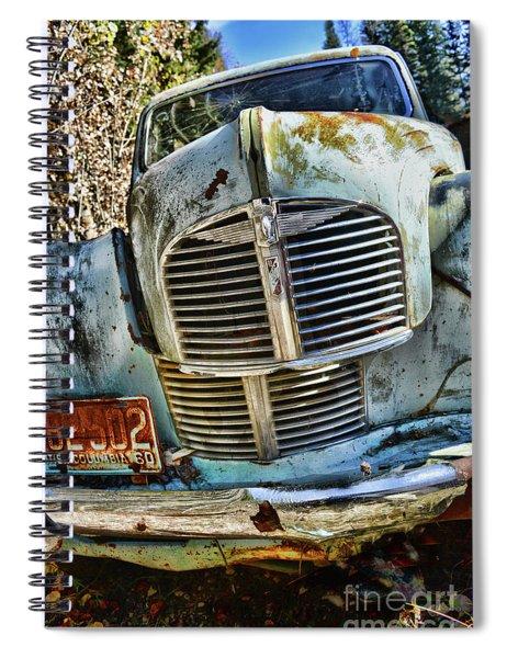 Austin A40 Spiral Notebook
